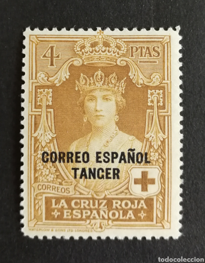 TANGER N°34 MH* (FOTOGRAFÍA REAL) (Sellos - España - Colonias Españolas y Dependencias - África - Tanger)