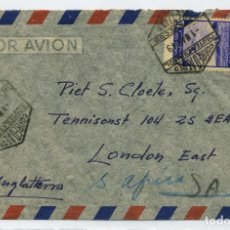 Sellos: MARRUECOS. SOBRE TETUAN AEREA 1 MARZO DE 1949 A LONDRES.. Lote 262713090