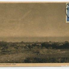 Sellos: MARRUECOS. TARJETA POSTAL ARCILA 3 MAY 1939 CARENAS (ZARAGOZA) CON FRANQUICIA Y CENSURA.. Lote 262857980