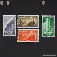 Timbres: SAHARA, 1961, XXV ANIV. JEFATURA DEL ESTADO, EDIFIL 193-196**, COMPLETA, SIN FIJASELLO, ( LOTE AB ). Lote 263047090