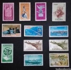 Sellos: 12 SELLOS SIN USO SAHARA COLONIA ESPAÑOLA AÑOS ENTRE 1960/1970. Lote 263611965