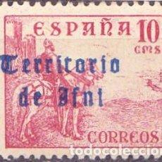 Sellos: 1948 - IFNI - CID - EDIFIL 40 - NUEVO CON CHARNELA. Lote 263668740