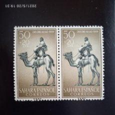 Timbres: SAHARA ESPAÑA 50+20 CTS DIA DEL SELLO AÑO 1959.. Lote 264690674