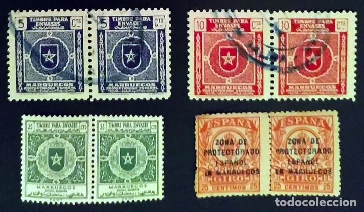 MARRUECOS. TIMBRES FISCALES (Sellos - España - Colonias Españolas y Dependencias - África - Marruecos)