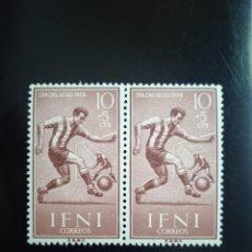 Selos: IFNI ESPAÑA 10+5 CTS DIA DEL SELLO AÑO 1959... Lote 264974699