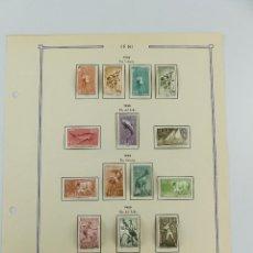 Selos: HOJA CON SELLOS DE ESPAÑA – IFNI AÑOS 1958-1959. Lote 265532479