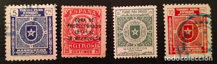 MARRUECOS FISCALES (Sellos - España - Colonias Españolas y Dependencias - África - Marruecos)
