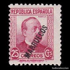 Sellos: TANGER.1933-38. SELLO ESPAÑA HABILITADO.25C.MH. EDIFIL 76. Lote 266229828