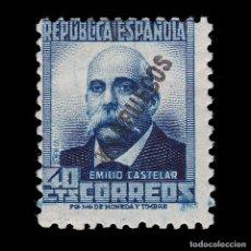 Sellos: TANGER 1933-38.SELLO ESPAÑA HABILITADO.40C.MH. EDIFIL 78. Lote 266230408