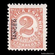 Sellos: TANGER 1937-38.SELLO ESPAÑA HABILITADO.2C.MH.EDIFIL 86. Lote 266286498