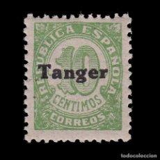 Sellos: TANGER.1939.HABILITADO.10C.MNH.EDIFIL 115. Lote 266426693
