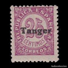 Sellos: TANGER.1939.SELLOS ESPAÑA HABILITADO.25C.MNH.EDIFIL 118. Lote 266427603