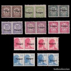 Sellos: TANGER.1939.ESPAÑA.9 VALORES BLQ 2.MNH.EDIFIL 114-123. Lote 266431988