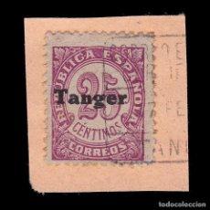 Sellos: TANGER.1939.SELLOS ESPAÑA.25C MATASELLO.EDIFIL 118. Lote 266519648