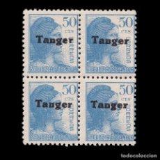 Sellos: TANGER.1939.ESPAÑA HABILITADO.50C.BLQ 4.MNH.EDIFIL 122.. Lote 266524703