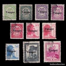 Sellos: TANGER.1939.ESPAÑA 10.USADO.EDIFIL 114-122/124/126. Lote 266522913