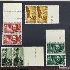 Timbres: SAHARA ESPAÑOL, 1960. EDIFIL 172/75. PRO INFANCIA. BLOQUE DE 2.SERIE COMPLETA. NUEVO. SIN FIJASELLOS. Lote 266723658