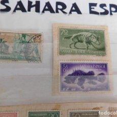 Sellos: 10 SELLOS CIRCULADOS DEL ANTIGUO SAHARA ESPAÑOL. Lote 267070804
