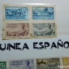 Sellos: 24 SELLOS CIRCULADOS DE LA GUINEA ESPAÑOLA.. Lote 267081954