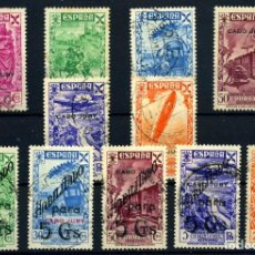 Sellos: CABO JUBY (BENEFICENCIA) Nº 7/17. AÑO 1941/43. Lote 267101274