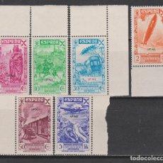 Sellos: 1939 IFNI HISTORIA DEL CORREO (CON ZEPPELIN). DE LUJO**. 320 €. Lote 267595609
