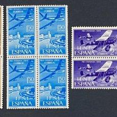 Sellos: IFNI, 1966. EDIFIL 218/20. PRO INFANCIA. SERIE COMPLETA. NUEVO. SIN FIJASELLOS. BLOQUE DE 4. Lote 267702049