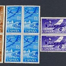 Sellos: IFNI, 1966. EDIFIL 218/20. PRO INFANCIA. SERIE COMPLETA. NUEVO. SIN FIJASELLOS. BLOQUE DE 4. Lote 267702089