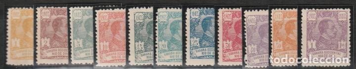 1921.- ALFONSO XIII. (Sellos - España - Colonias Españolas y Dependencias - África - Río de Oro)