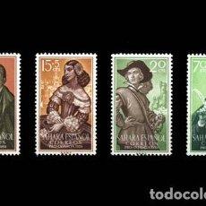 Selos: SAHARA EDIFIL 156-159 NUEVOS MNH **. Lote 268716399