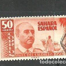 Selos: SAHARA E. 1951 - EDIFIL NRO. 88 - USADO. Lote 268722014