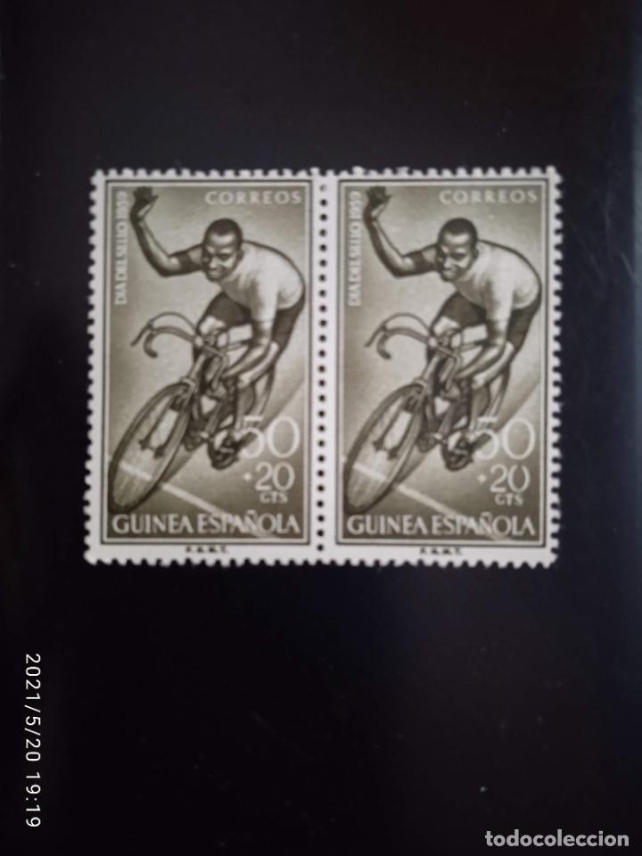 ESPAÑA GUINEA, 50+20 CTS DIA DEL SELLO AÑO 1959. (Sellos - España - Colonias Españolas y Dependencias - África - Río Muni)