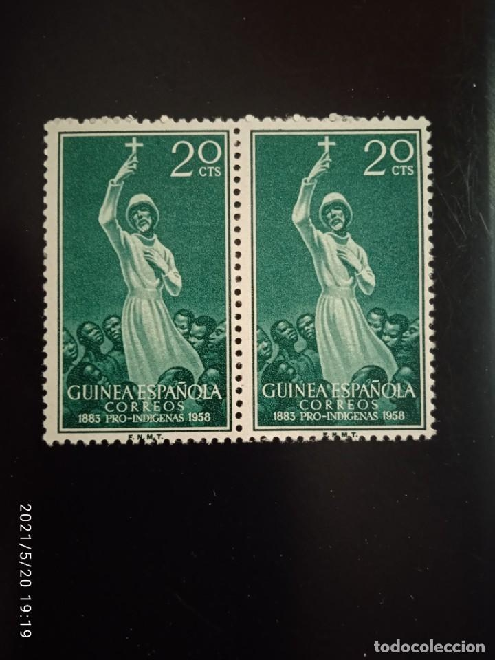 ESPAÑA GUINEA, 20 CTS PRO-INFANCIA AÑO 1958. (Sellos - España - Colonias Españolas y Dependencias - África - Río Muni)