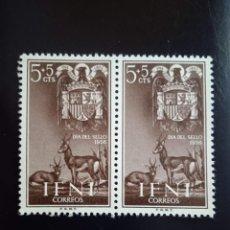 Sellos: ESPAÑA IFNI, 5+5 CTS DIA DEL SELLO AÑO 1956.. Lote 268866804