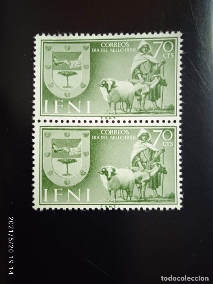 ESPAÑA IFNI, 70 CTS DIA DEL SELLO AÑO 1956. (Sellos - España - Colonias Españolas y Dependencias - África - Ifni)