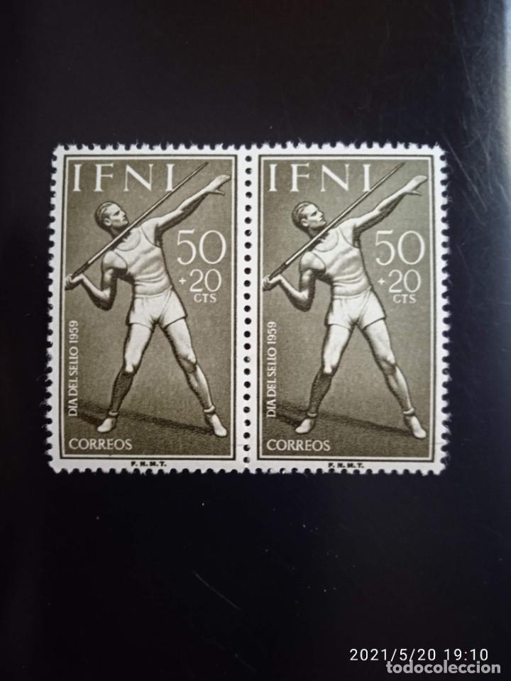 ESPAÑA IFNI, 50+20 CTS, DIA DEL SELLO AÑO 1950. (Sellos - España - Colonias Españolas y Dependencias - África - Ifni)