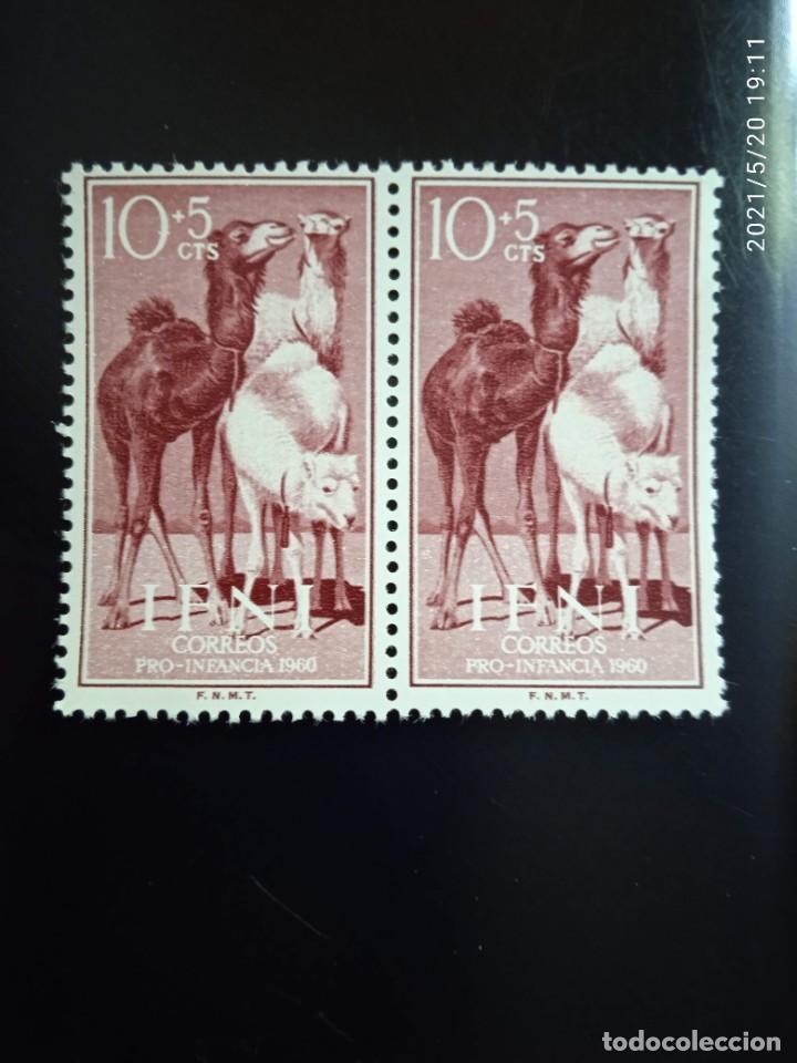 ESPAÑA IFNI, 10+5 CTS, PRO INFANCIA AÑO 1960. (Sellos - España - Colonias Españolas y Dependencias - África - Ifni)