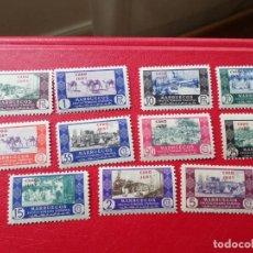 Sellos: CABO JUBY, 1948, COMERCIO, SELLOS DE MARRUECOS HABILITADOS, EDIFIL 162/72. Lote 269642863