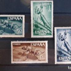 Sellos: SERIE COMPLETA SAHARA EDIFIL 242 ** A 245 ** PRO INFANCIA 1965. Lote 270361853