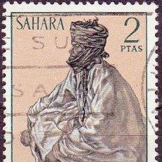 Sellos: 1972 - SAHARA - TIPOS INDIGENAS - EDIFIL 299. Lote 270569888