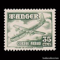Sellos: TANGER.1948. AVIONES.35C.MNH.EDIFIL 168.. Lote 271052238