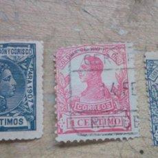 Sellos: 3 SELLOS COLONIAS ESPAÑOLAS EN AFRICA DE ALFONSO XIII. Lote 273524058