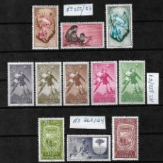 Selos: GUINEA ESPAÑOLA= TRES SERIES COMPLETAS Y NUEVAS_SON LAS DE LA FOTO_VER FOTO DETALLADAMENTE.. Lote 275269628