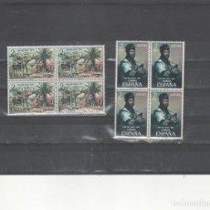 Sellos: SAHARA-312/313 -PINTURAS- BLOQUE DE CUATRO- SELLOS NUEVOS (SEGÚN FOTO). Lote 275684063