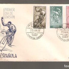 Sellos: 1 SOBRE PRIMER DIA GUINEA ESPAÑOLA AÑO 1959. Lote 275940218