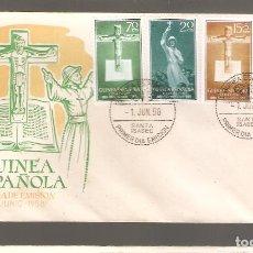 Sellos: 1 SOBRE PRIMER DIA GUINEA ESPAÑOLA AÑO 1958. Lote 275941073