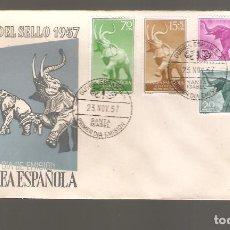 Sellos: 1 SOBRE PRIMER DIA GUINEA ESPAÑOLA AÑO 1957. Lote 275941358