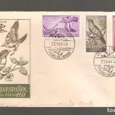 Sellos: 1 SOBRE PRIMER DIA SAHARA AÑO 1958. Lote 275943573