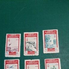 Sellos: MARRUECOS 1951 EDIFIL 336/42 NUEVA CON CHARNELA VER FOTOS. Lote 276278418