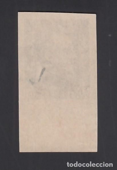 Sellos: GUINEA,1940 EDIFIL Nº 262s /**/. 50 c. pizarra, General Franco, Borde de Hoja SIN DENTAR - Foto 2 - 276386518