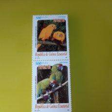 Sellos: 2000 GUINEA ECUATORIAL SERIE COMPLETA NUEVA 259/1 AVES FAUNA PÁJAROS PAPAGAYOS GUINEA ECUATORIAL. Lote 276497998